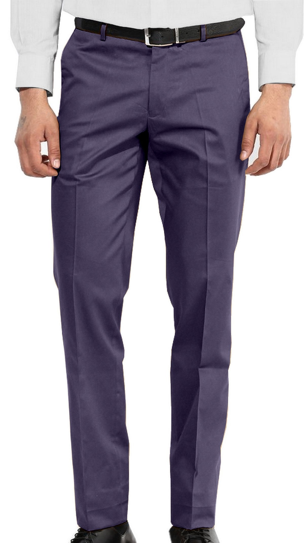 Purple Blue Twill chino