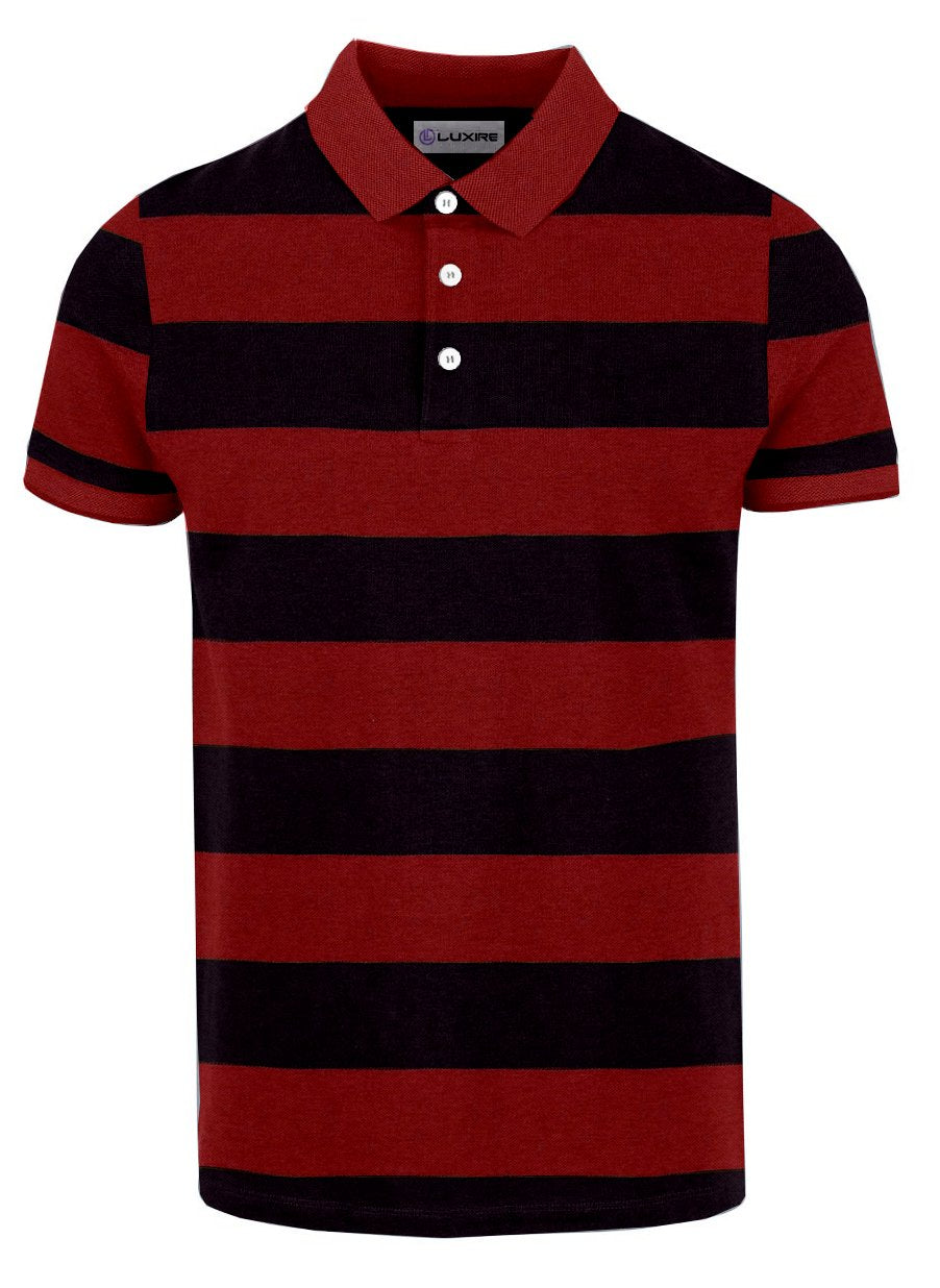 Red Navy Stripes T-shirt