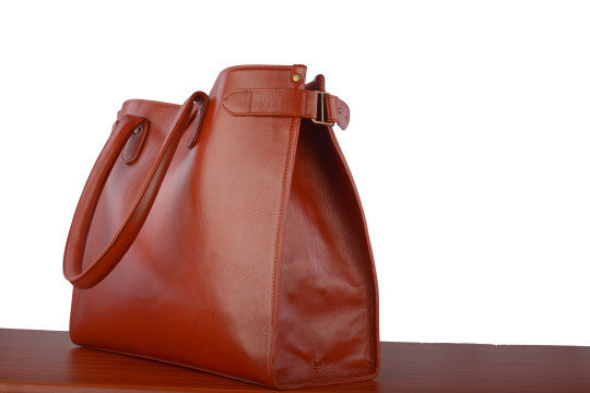 Leather Large Tote Bag