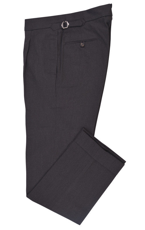 Charcoal Grey Cotton Dress Pants