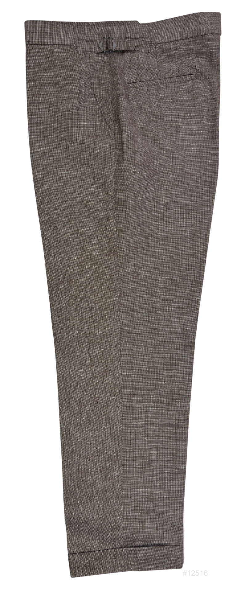 Brown Cotton Linen