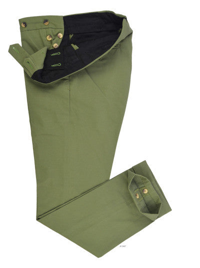 Hunter Green Twill Chino