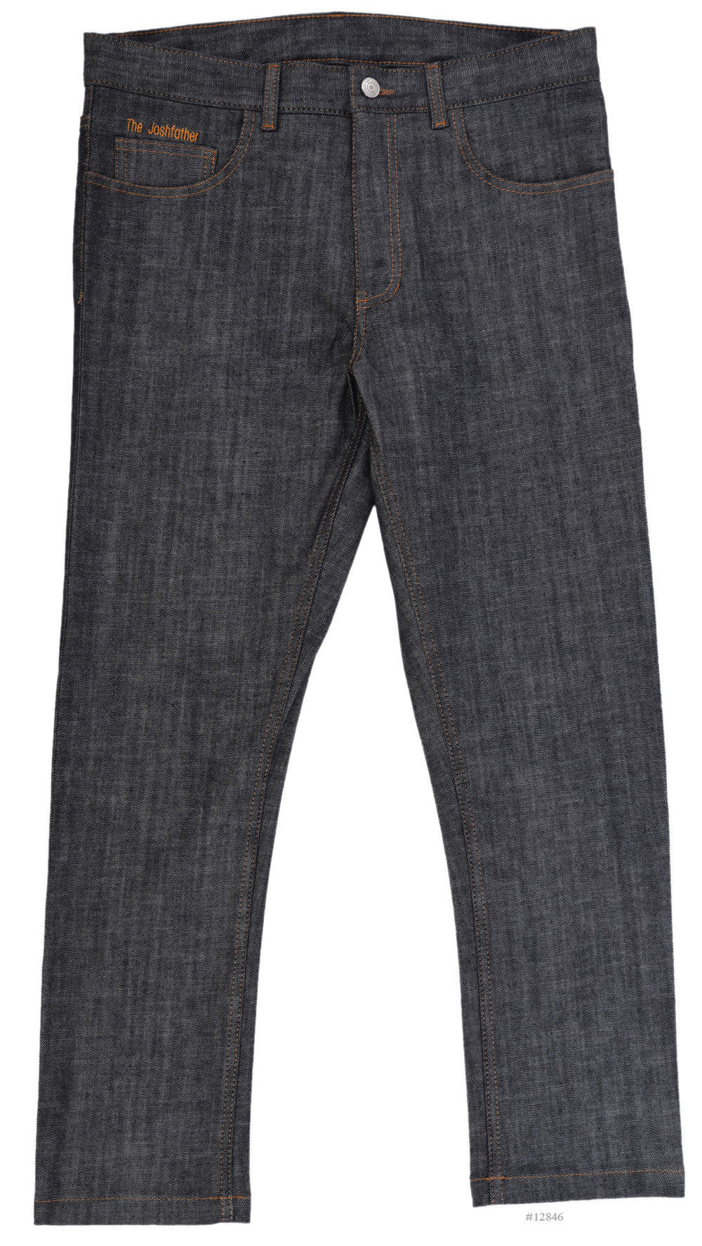 Dark Indigo Stretch Jeans 13 Oz