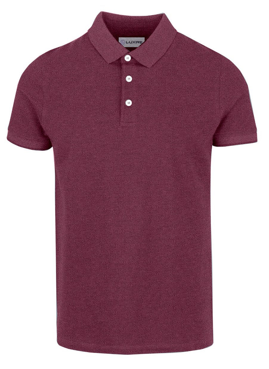 Purple Coloured Polo T-shirt
