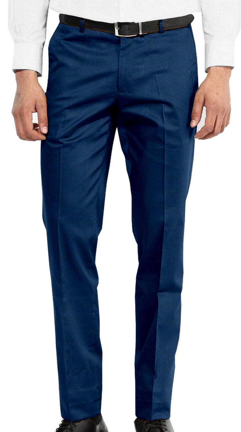 Washable Wool Pants: Dark Teal Blue (8347322824)