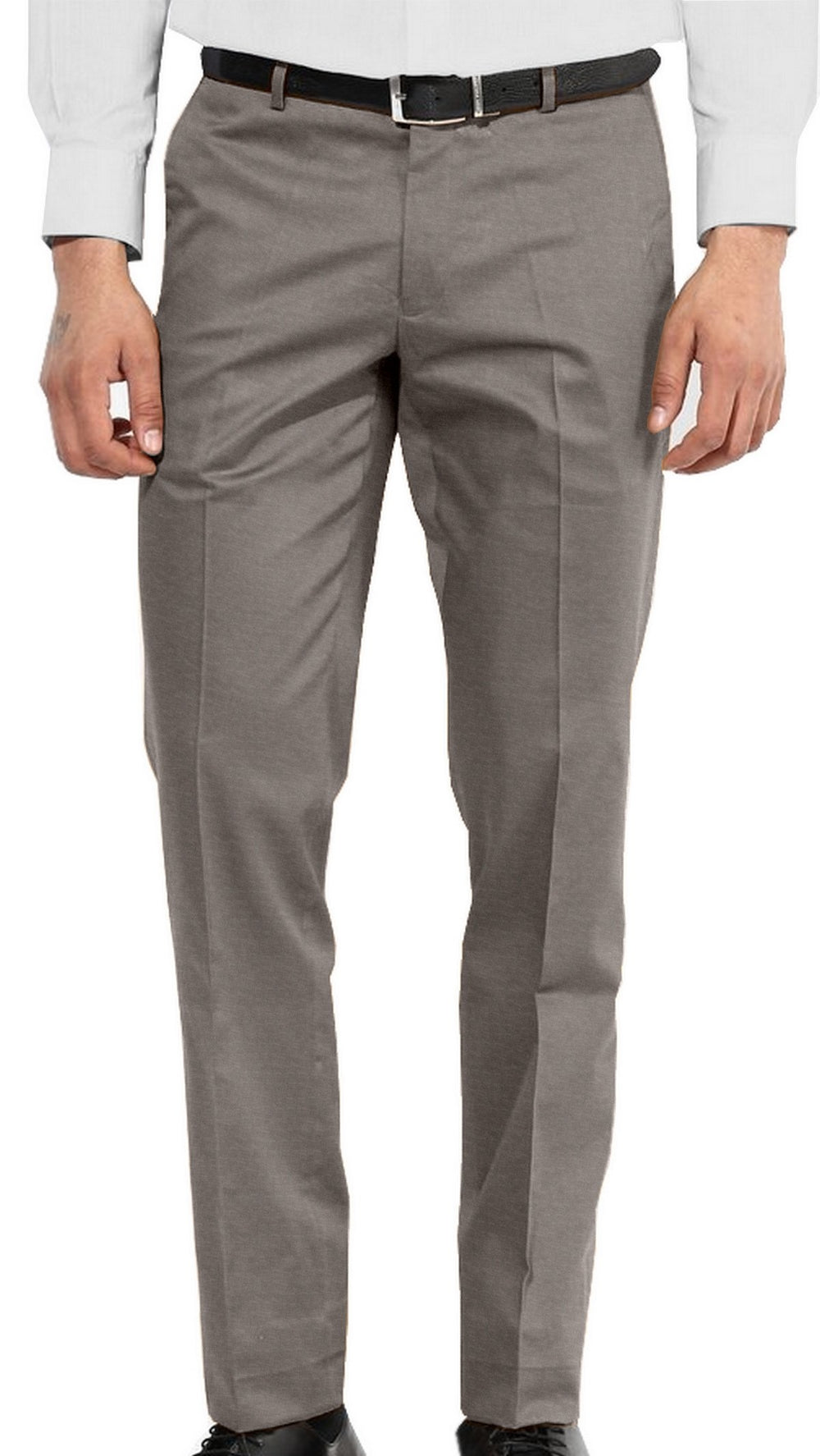 Casual Chino in Sand Cotton Canvas Linen (1582179418167)