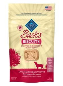 Blue Basics Limited Ingredient Diet Salmon & Potato Dog Biscuits
