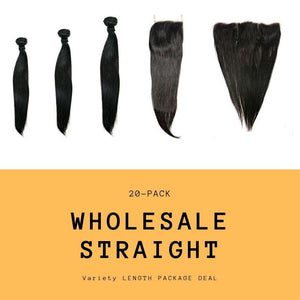 Brazilian Straight Variety Length Package Deal -