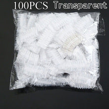 50/100pcs Disposable Plastic Waterproof Ear Protector Cover Caps Salon Hairdressing Dye Shield Protection Shower Cap Tool