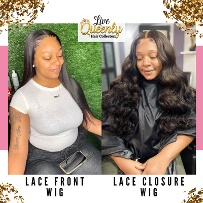 Lace Front Wig Or Lace Closure? What's The Difference?