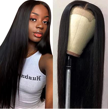 Straight LACE CLOSURE WIG