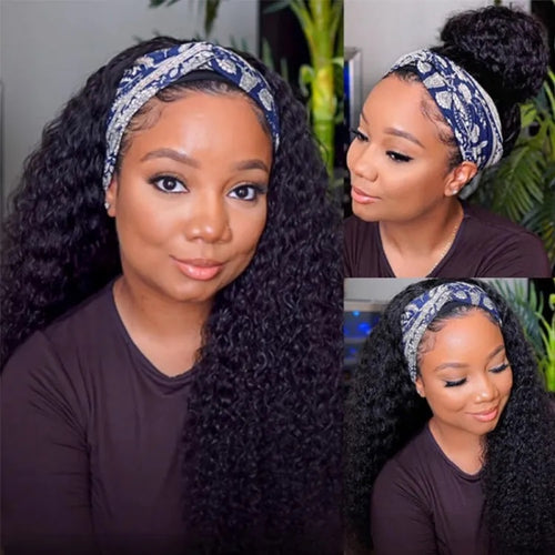 GRAB & GO Deep Wave HeadBand Wig