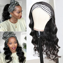 Load image into Gallery viewer, GRAB & GO Body Wave HeadBand Wig