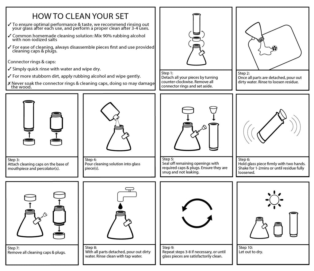 How to clean your bong