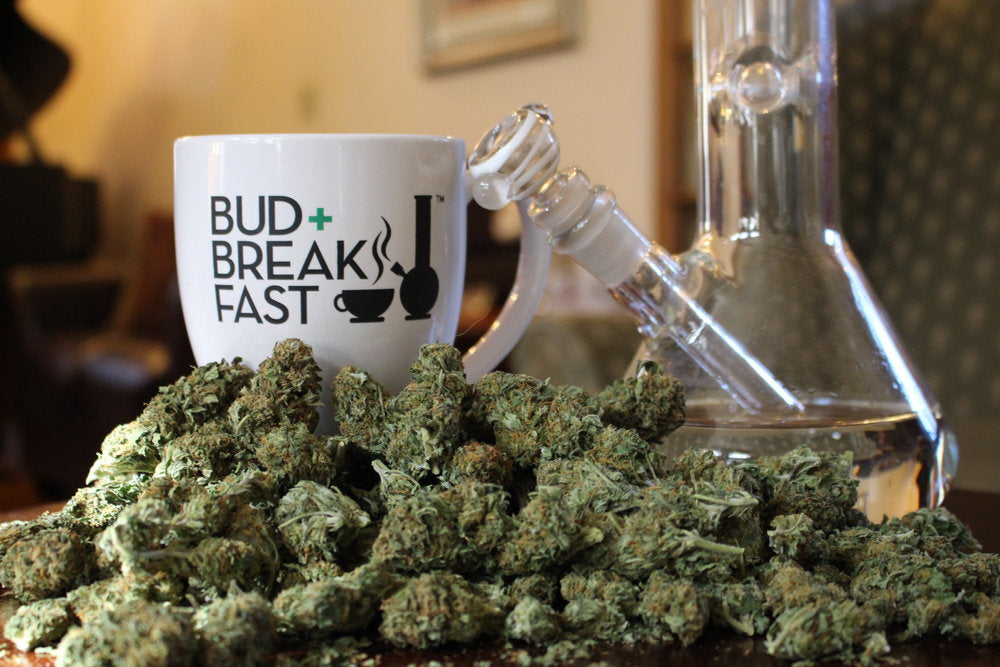 Bud + Breakfast | VITAE Glass