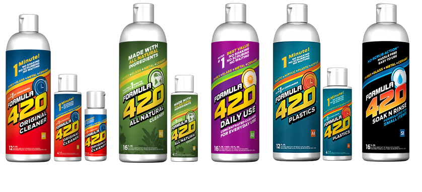 Formula 420 Glass Cleaner | VITAE Glass
