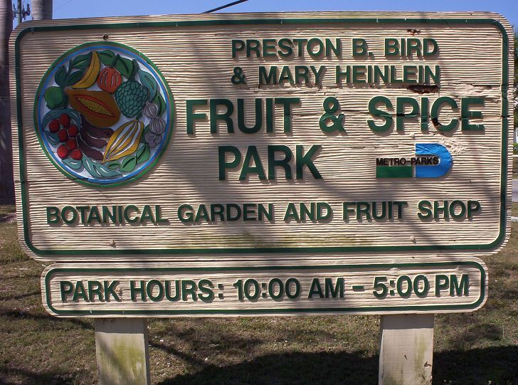 Fruit and Spice Park | VITAE Glass