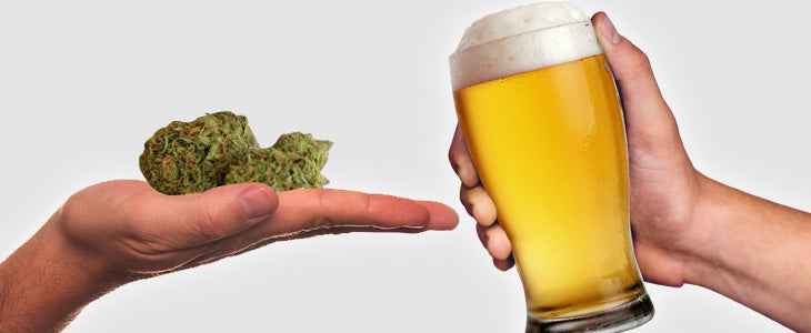 Beers and Cannabis | VITAE Glass