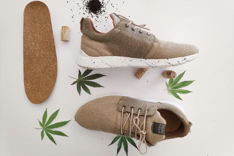 Waterproof Hemp shoes by Dopekicks