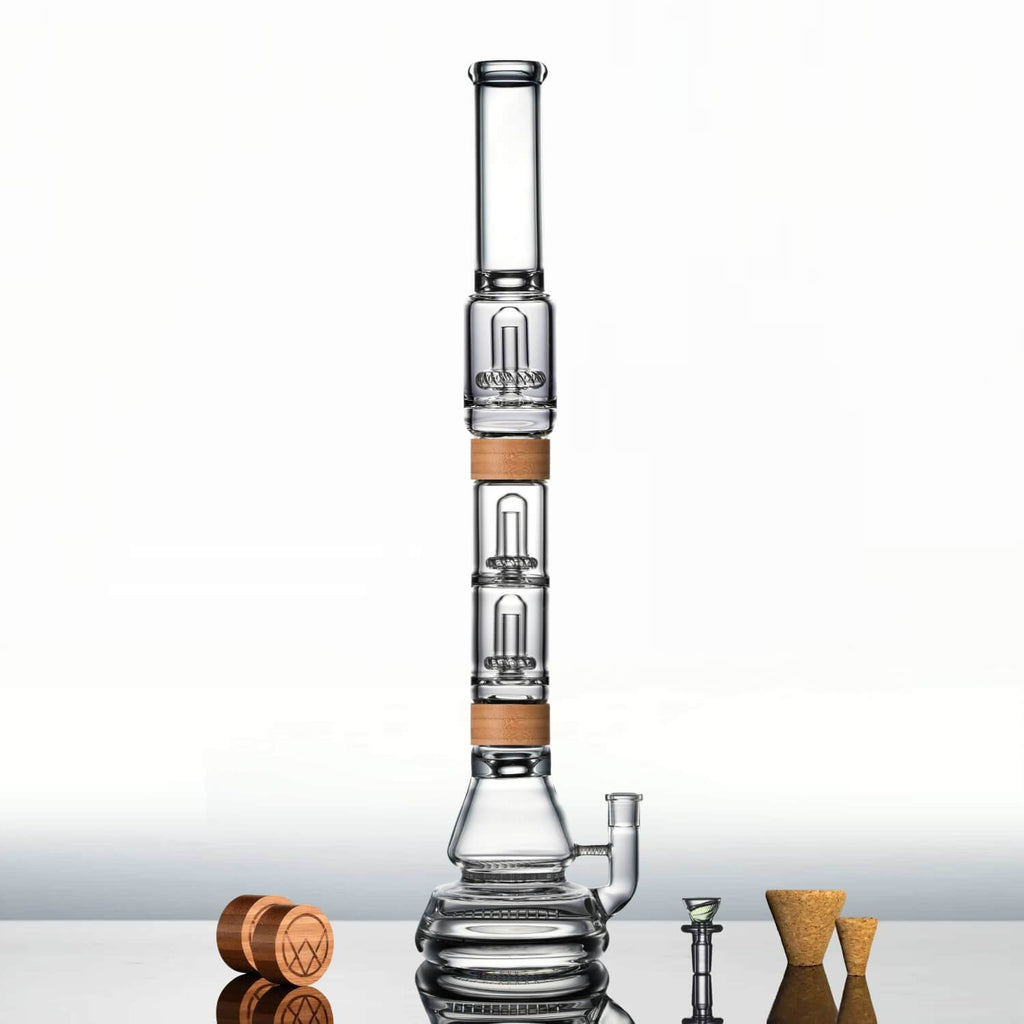 "22"" Voyager + Dual UFO Perc (Pre-order only) - VITAE Glass"