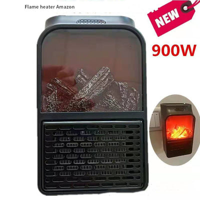 Mini Electric Wall-outlet Flame Heater