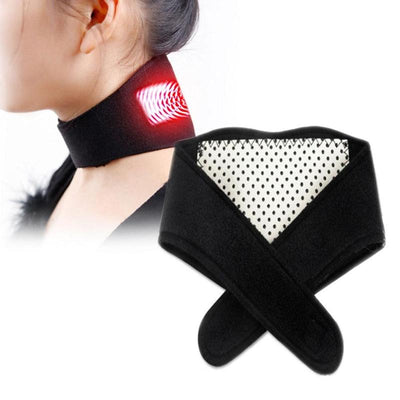 Self Heating Magnetic Therapy Neck Brace - Pain Relief Cervical Vertebrae