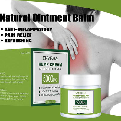 Hemp Oil Inflammation Cream Pain Killer