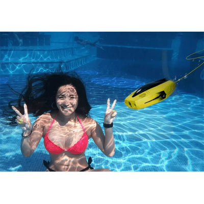 Mini DORY Underwater Drone Robot with 1080P HD Video Camera and 15M Depth