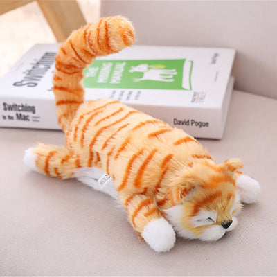 Rolling Cat Plush Doll