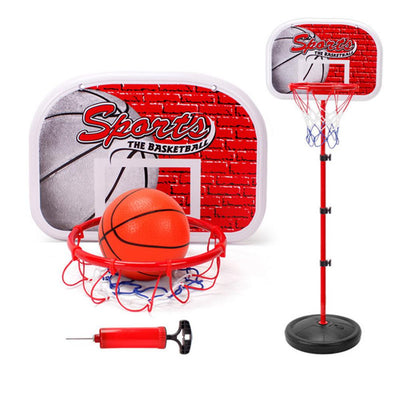 2020 Kids Portable Height-Adjustable Basketball Hoop System Stand