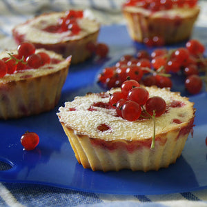 Red Currant Cheesecake Minis