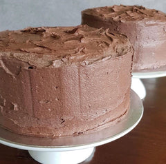 Sri Lankan Chocolate Cake in sydney by The Hopper Pan made with dutch cocoa and buttercream icing