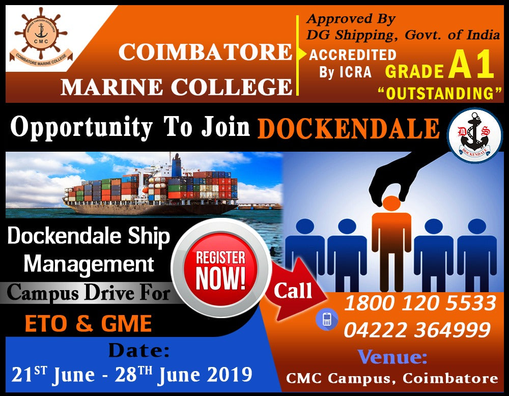 Dockendale Ship Management Campus Drive For GME & ETO