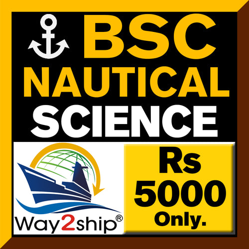 B.Sc Nautical Science Admission 2021