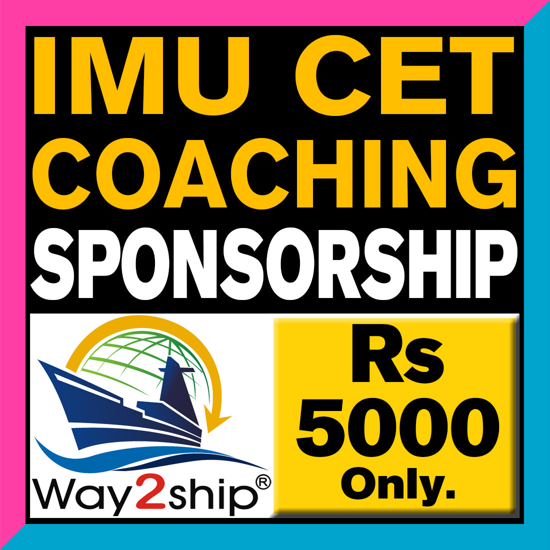 IMUCET Sponsorship Classes 2021