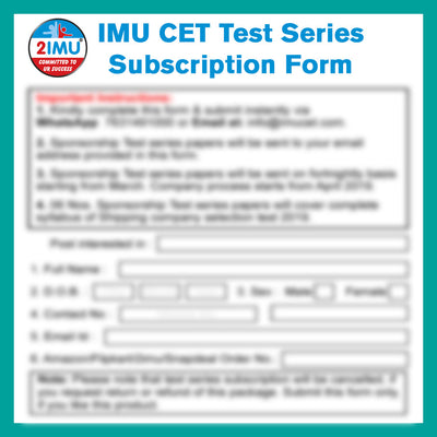 IMU CET Sponsorship Guide 2021