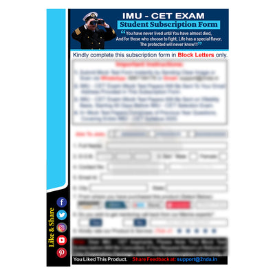 IMU CET 2021 Test Package