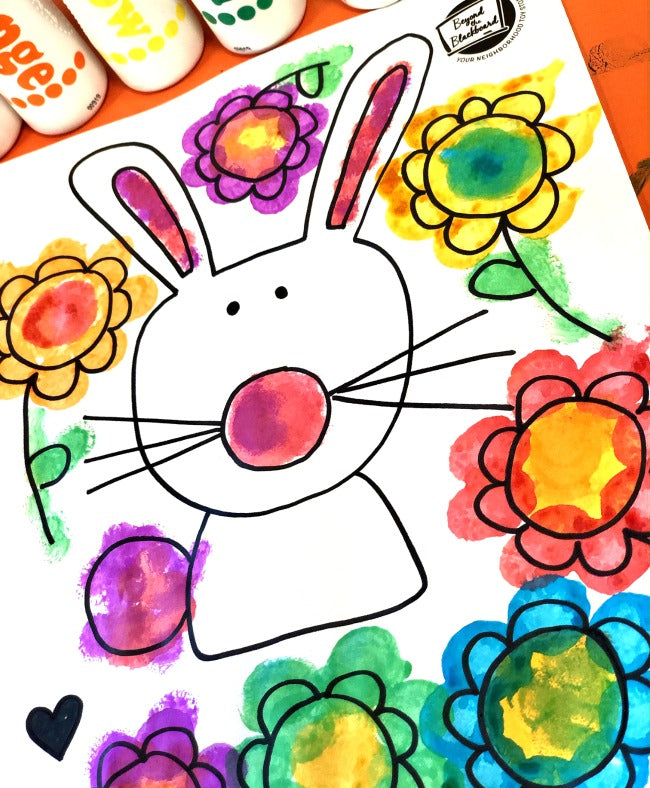 Bunny Coloring Printable