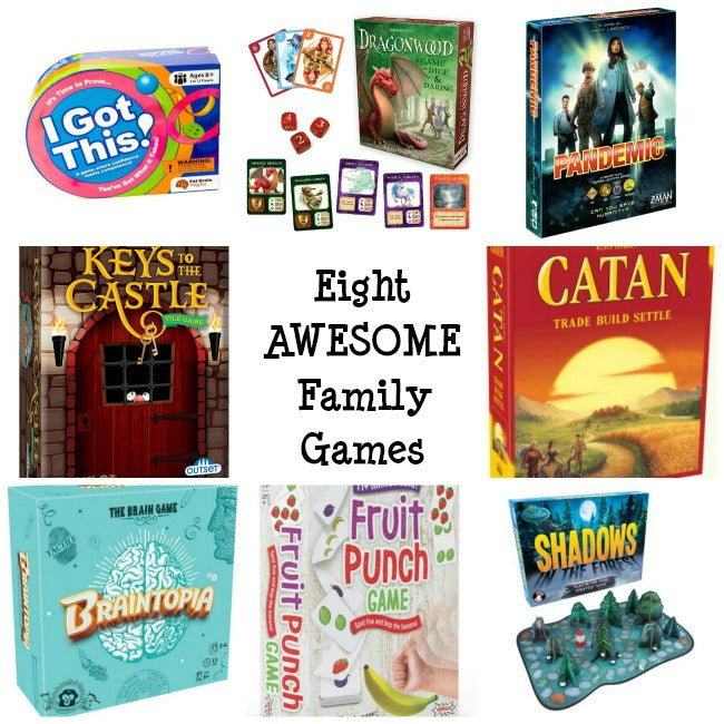 Eight Awesome Family Games