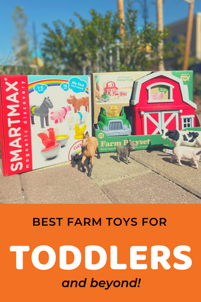 Best Farm Toys for Toddlers and Beyond!, SmartMax My First Farm Animals, Green Toys Farm Playset
