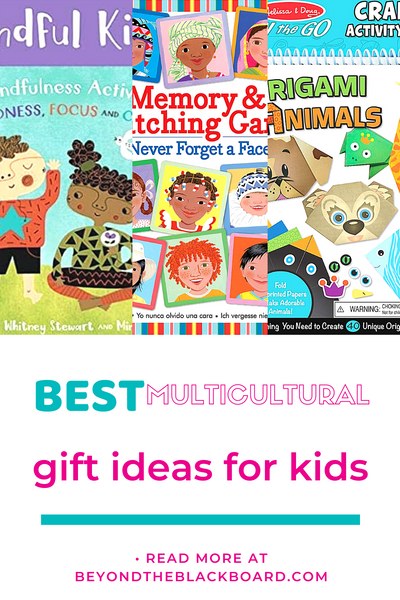 best multicultural gift ideas for kids, beyondtheblackboard.com, Mindful Kids cards, I Never Forget a Face game, Melissa and Doug Origami Animals