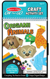 Melissa & Doug, On the Go, Craft Activity Set, Origami Animals