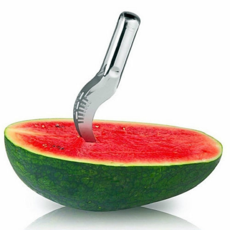 Watermelon Slicer Stainless Steel Scoop Knife Tools