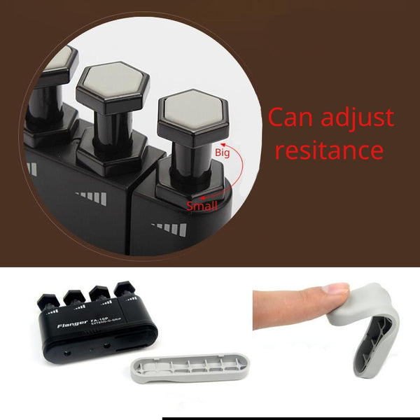 Flanger Extendable and Strength adjustable Finger Exerciser Ukulele/Guitar/Bass/Piano/Saxophone/Violin Finger Trainer