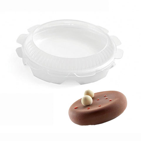 Round Silicone Cake Mold For Mousses Ice Cream Chiffon Cakes