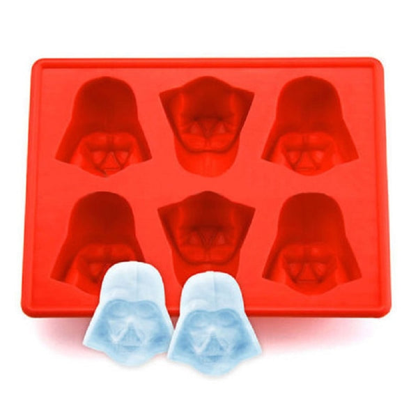 Silicone Ice Tray Moulds in Star Wars Character Shapes