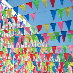 Multipurpose Occasion Fabric Hanging Flags for All Type
