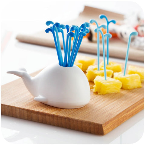 1 Set Cute Beluga White Whale Kitchen Accessories