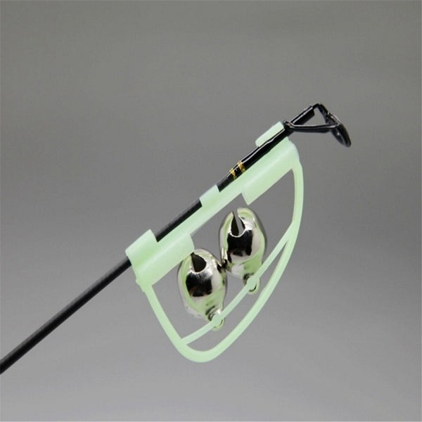 Night Fishing Rod Tip fish Bite Alarm Clip Glow in The Dark
