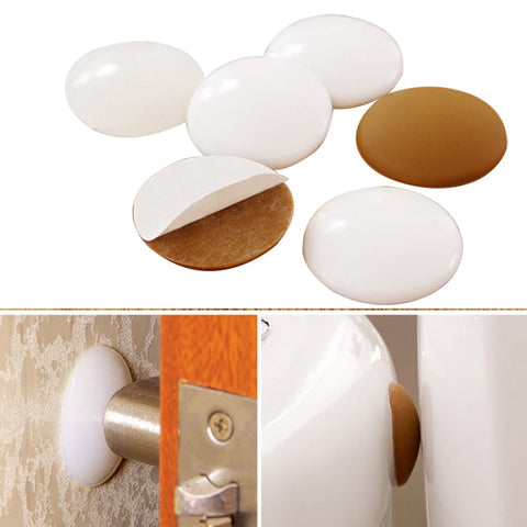 Door pads handle door lock protective rubber pad